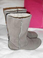 Unbranded Suede Wedge Low Heel (0.5-1.5 in.) Boots for Women