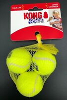 KONG Squeakair Balls (3 Pack) Dog Toy Size Small New