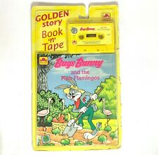 Vintage Golden Story Book N Tape Bugs Bunny The Stowaway 1991 RARE