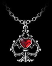 ALCHEMY Corazón Collar - Lucky In Love - Gothic Mujer Collar Regalo