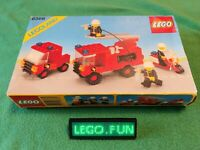 LEGOLAND® 6366 Feuerwehr Set +OBA+OVP / Fire & Resque Squad +box+instr. 12V 9V