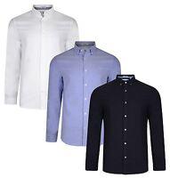 Original Penguin Cotton Oxford Shirt Slim Stretch Long Sleeve Button Down Collar