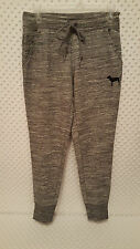 NWT Victoria's Secret PINK Gym Pants Marled Gray S