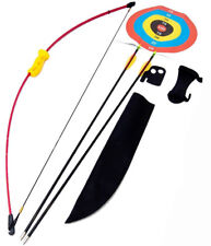 ASD Childs Archery Recurve Bow Set With Arrows, Target Face & More
