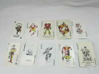 Lot 10 Jokers Playing Cards Joker Vintage Card 33247