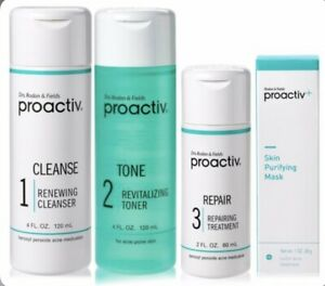 Proactiv 3-Step 60-Day Kit Acne Treatment System with Purifying Mask- EXPIRED