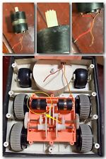 TOMY OMNIBOT 5402 ORIGINAL PARTS - (1) ELECTRIC MOTOR TESTED & WORKING