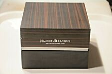 Maurice Lacroix WATCH BOX  EMTY With Internacional Warranty In  Good  Condition