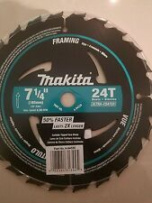 "MAKITA A-94530 7 1/4"" 24 TOOTH BLACK FRAMING BLADE"