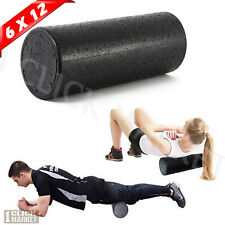 HIGH DENSITY FOAM ROLLER Back Pain Deep Massage Muscle Therapy Pilates Yoga Gear