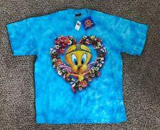 Vintage Tweety Tye Dye 1998 Warner Brothers Vintage Size XL USA