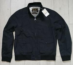 """*NEW* Barbour Maree """"XL"""" Navy Mens Harrington Lightweight Jacket Herren Jacke"""