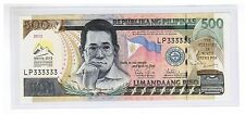 LP 333333 2012 PHILIPPINES 500 Peso 45th Annual Meeting ADB OvptLogo Solid No.