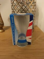 Coca Cola London 2012 Olympic Games Glass McDonalds Boxed Blue Brand New