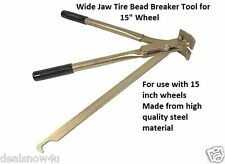 Wide Jaw Tire Bead Breaker Tool for 15 inch Wheel Durable Steel Auto Car Truck