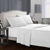 Dreaming Casa Deep Pocket King Size Comfort Count 4 Piece Bed Sheet Set White
