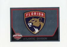 17/18 PANINI NHL STICKER TEAM LOGO #80 FLORIDA PANTHERS *40449