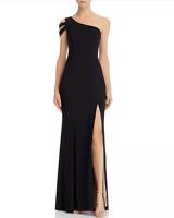 Aqua One-Shoulder Gown MSRP $238 Size 2 # 9NA 55 NEW