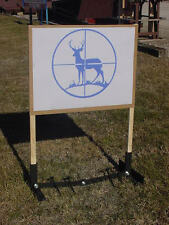 Shooting Target Stand Hunters Military Law Bow Rifle Gun Deer Buck Doe Moose Elk