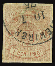 LUXEMBOURG LUXEMBURG LUSSEMBURGO 1859 1 c. USED OFFER!