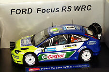1/18 Ford Focus WRC Castrol  Winner Rally Sweden 2007  M.Gronholm