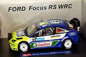 1/18 Ford Focus WRC Castrol  Winner Rally Sweden 2007  M.Gronholm