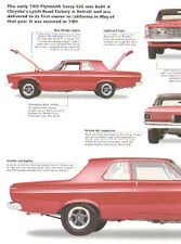 1963 Plymouth Savoy 426 Max Wedge Stage II S/SA Super Stock Article - NHRA