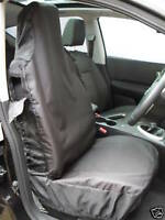 NISSAN NAVARA CAR SEAT COVERS WATERPROOF NYLON BLACK
