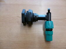 IBC Tank Boss Bulkhead Ooutlet Water Tank Fitting with 3/4 inch Garden Hose tap