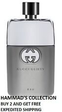 GUCCI GUILTY EAU POUR HOMME EDT 3.0 OZ / 90 ML FOR MEN (NEW IN TESTER BOX)