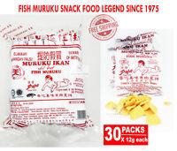 Snack Foods Fish Muruku Legend Since 1975 Delicious Taste 30 Packs x 12g each