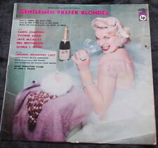Soundtrack LP GENTLEMEN PREFER BLONDES Early Flipback Cover Cheesecake