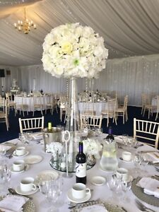 Buy Flower Table Decorations In Wedding Centrepieces Table Decors Ebay