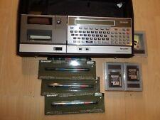 SHARP POCKET COMPUTER CE-150 + DRUCKER und Zubehör