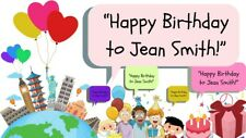 Birthday best wishes and greeting videos