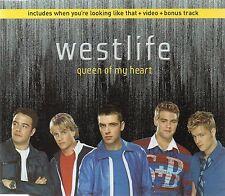 WESTLIFE - QUEEN OF MY HEART (3 tracks plus video, CD single)
