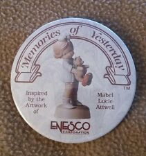 """""""Memories Of Yesterday"""" Pin Inspired By Artwork Mabel L Attwell"""