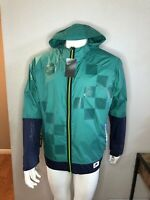 Nike Running Jacket Windbreaker 3M Reflective Shield Green BV5615-340 X-Large