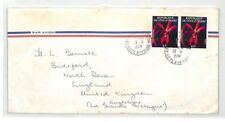 BT85 1978 Ivory Coast Commercial Air Mail Cover {samwells}PTS