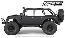Axial SCX10 Rubicon or CRC Edition Body Graphic Wrap Skin- Faux Carbon
