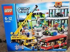 LEGO City Carrefour de la Ville / Town Square 60026 NEUF