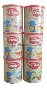 Nestle Cerelac Honey & Wheat,Baby Rice, Mixed Fruit Infant Cereal With Milk