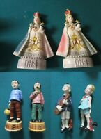 GORT POTTERY INFANT OF PRAGUE/BOY AND GIRL/ CHINESE BOY GIRL FIGURINES -PICK1