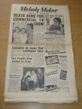 MELODY MAKER 1955 AUGUST 13 TED HEATH LITA ROZA COLUMBIA TONY CROMBIE +