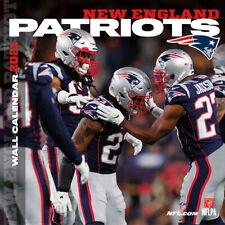 Nfl Calendar 2021 New England Patriots Wall Calendar 30x30 Calendar Football