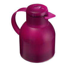 Emsa Samba Insulating Jug Quick Press 1 L Raspberry Jug 507075