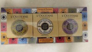 L'Occitane Savons de Provence Luxury Deluxe Soap Set, Pamper Yourself, Brand New