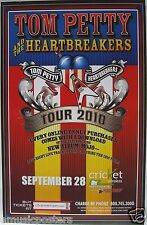"TOM PETTY & THE HEARTBREAKERS ""TOUR 2010"" SAN DIEGO CONCERT POSTER- Classic Rock"