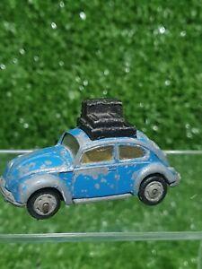 Vintage Husky Corgi Models Volkswagen 1300 In Blue - Needs Repainting