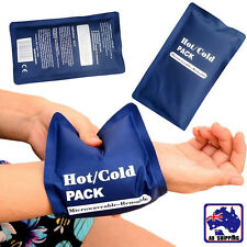 Hot & Cold Reusable Microwaveable Heat Ice Gel Pack First Aid Bags SGBA11106